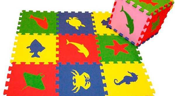 Полы-пазлы для детской комнаты