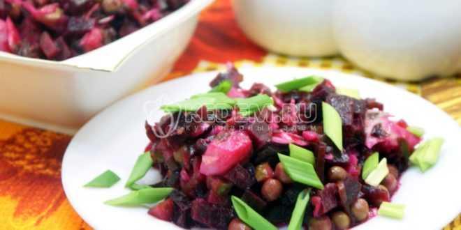 Винегрет с морской капустой – Пошаговый рецепт с фото. Салаты. Вкусные рецепты с фото. Салаты с рыбой и морепродуктами