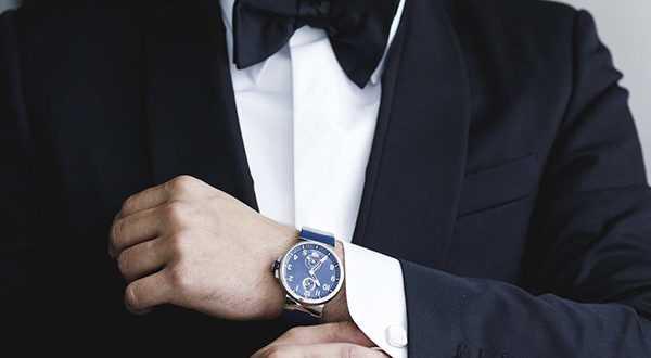 Этикет ношения часов для мужчин